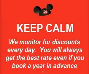 keep calm discount monitor