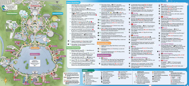 Map of Hollywood Studios 2014 Disney's Hollywood Studios Map