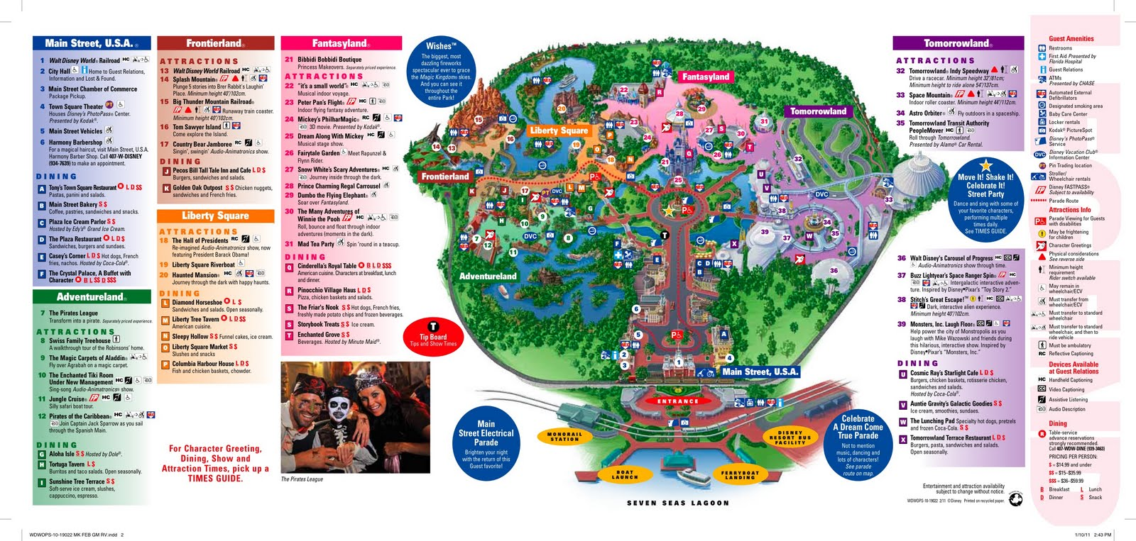 Walt disney world maps wdw planning magic kingdom map gumiabroncs Choice Image