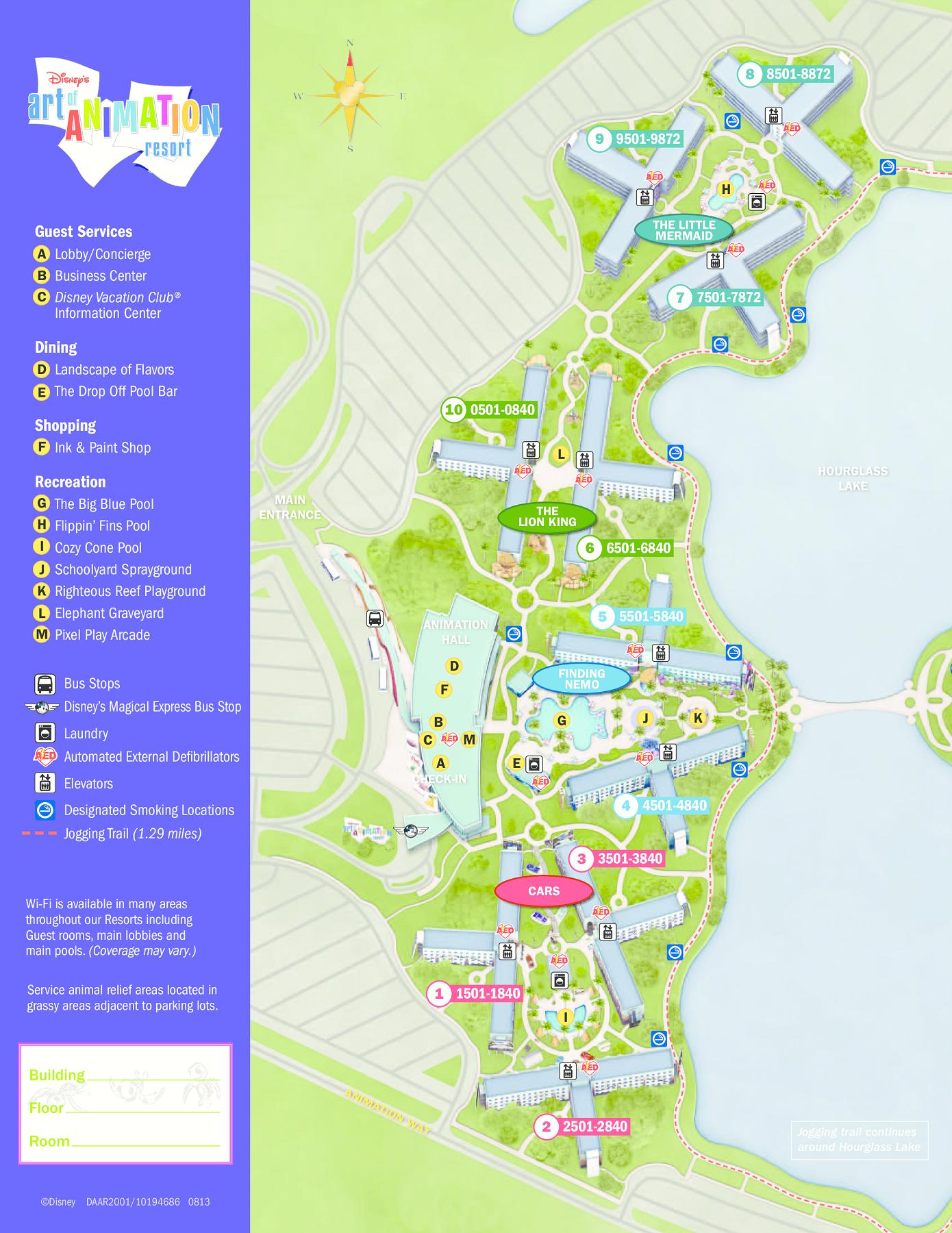 Walt Disney World Maps  WDW Planning