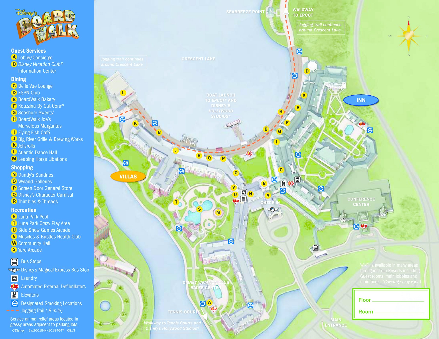 Walt disney world maps wdw planning disneys boardwalk inn villas gumiabroncs Choice Image