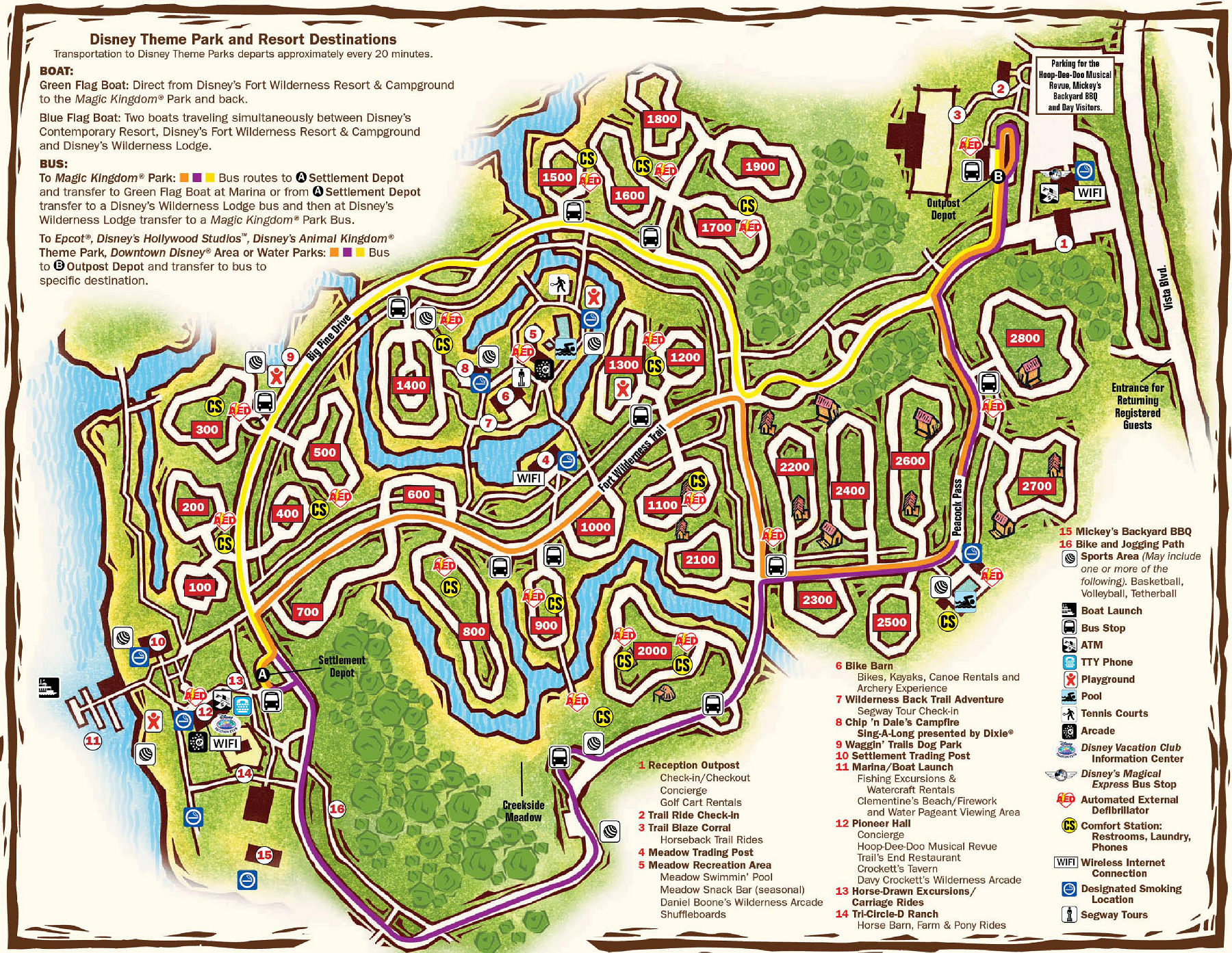 Walt Disney World Maps Wdw Planning