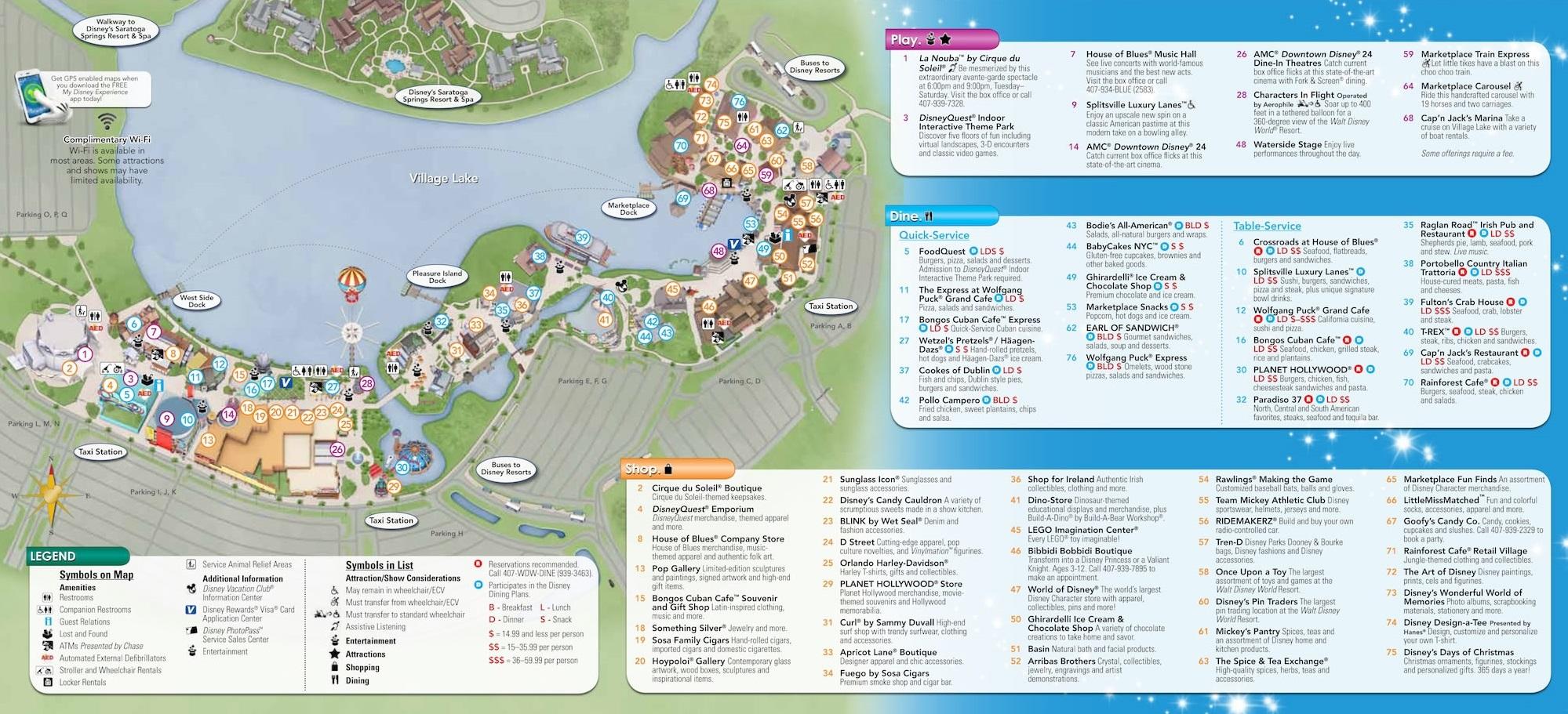 Walt disney world maps wdw planning downtown disney gumiabroncs Gallery