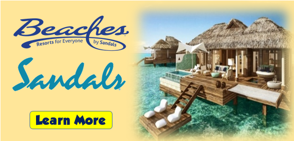 Sandals beaches slideshow mickey 39 s travel major cruise for Best beach vacations in march