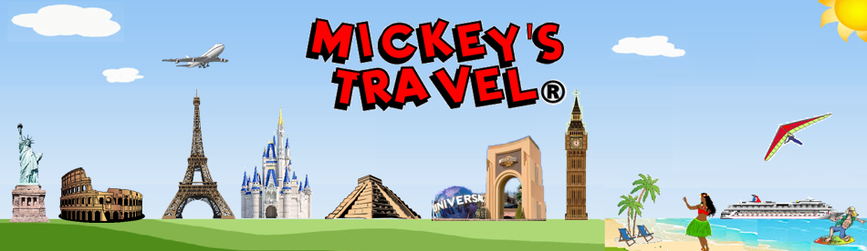 Mickey's Travel – Major cruise lines and destinations