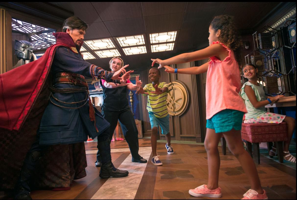 Disney Cruise Line Marvel Day At Sea 1