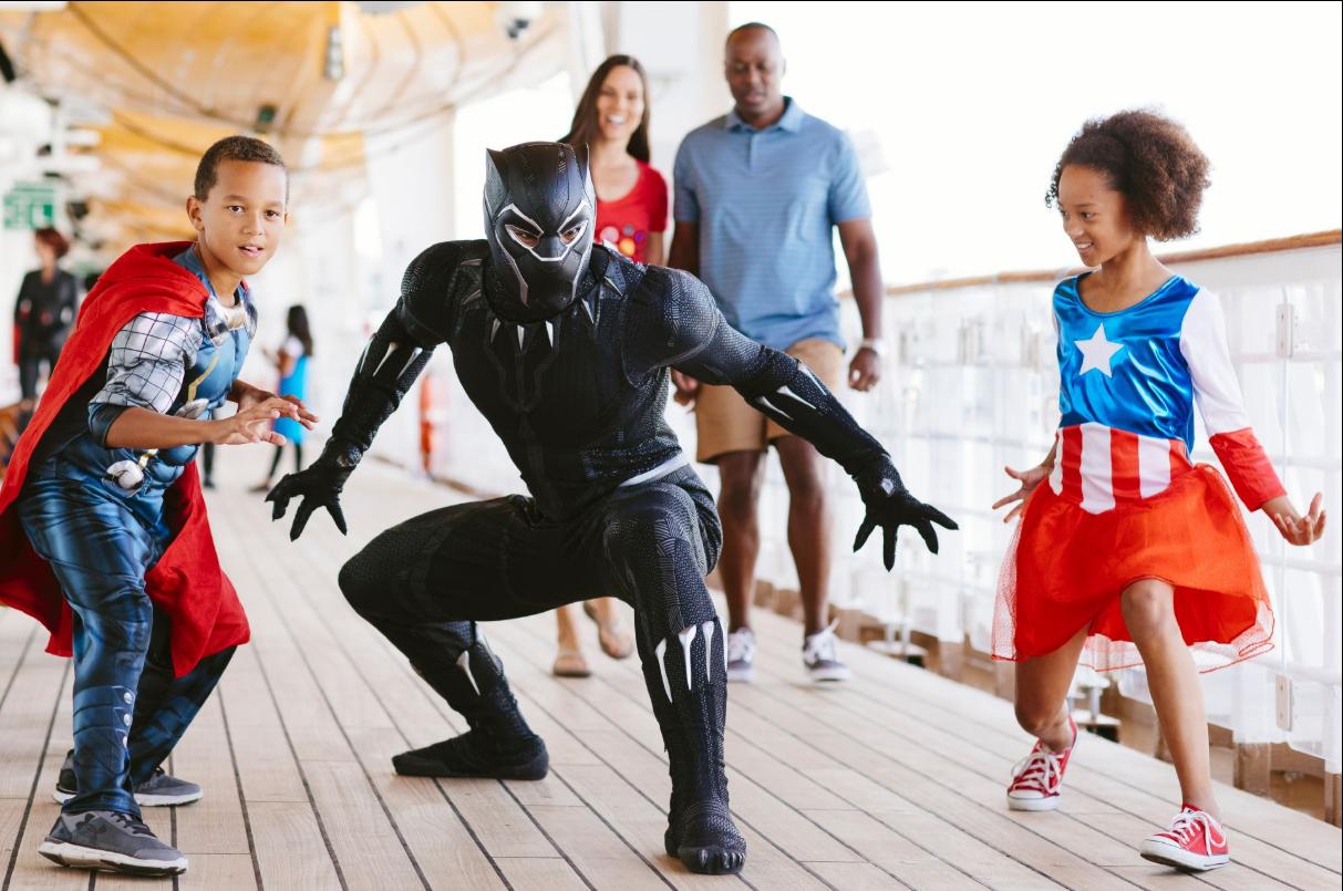 Disney Cruise Line Marvel Day At Sea 4