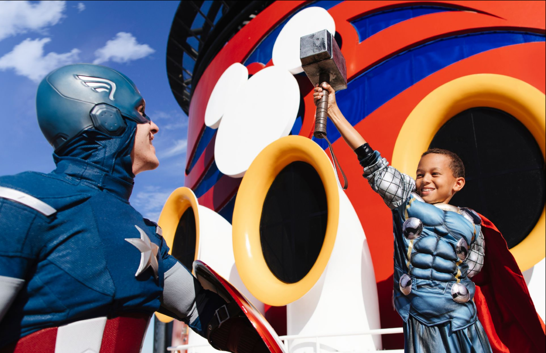 Disney Cruise Line Marvel Day At Sea 5